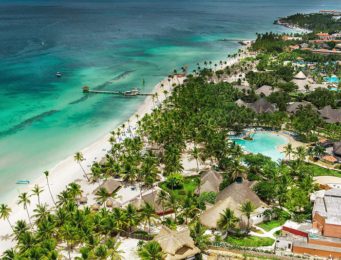 Vue du Club Jet Tours Grand Dominicus, de son vrai nom Catalonia
