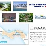 L'offre de séjour au Panama avec Air France