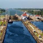 Le célèbre canal de Panama