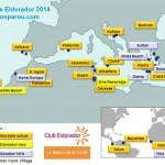 Carte des Clubs Jet Tours Eldorador - Jet Tours