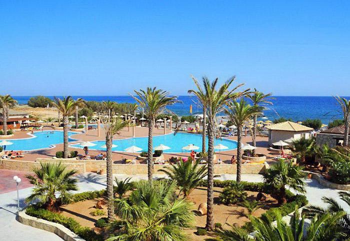 Cliquez sur la photo pour accéder à la fiche technique du Kappa Club Ostria Beach en Crète